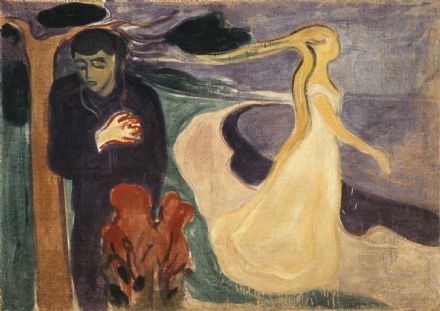 Munch, Edvard: Separation. Fine Art Print/Poster. Sizes: A4/A3/A2/A1 (0078)